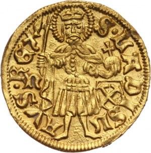 Węgry, Maciej Korwin 1458-1490, goldgulden bez daty, Nagybanya