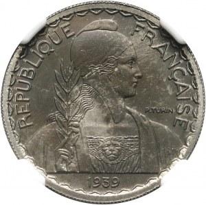 Francuskie Indochiny, 20 centów 1939, Próba