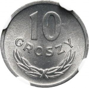 PRL, 10 groszy 1962