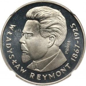 PRL, 100 złotych 1977, Władysław Reymont, PRÓBA, nikiel