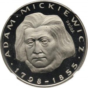 PRL, 100 złotych 1978, Adam Mickiewicz, PRÓBA, nikiel