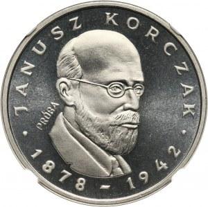 PRL, 100 złotych 1978, Janusz Korczak, PRÓBA, nikiel