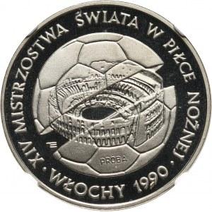 PRL, 500 złotych 1988, MŚ we Włoszech, PRÓBA, nikiel
