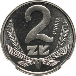 PRL, 2 złote 1979, PRÓBA, nikiel