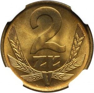 PRL, 2 złote 1975