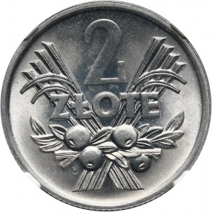 PRL, 2 złote 1972, Jagody