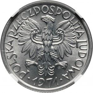 PRL, 2 złote 1971, Jagody