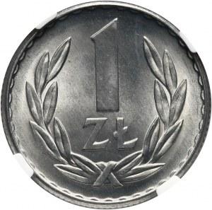 PRL, 1 złoty 1965