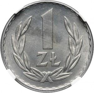 PRL, 1 złoty 1957