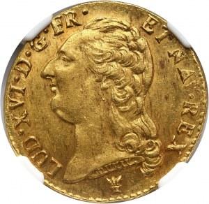 Francja, Ludwik XVI, louis d'or 1790 I, Limoges