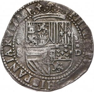 Peru, Filip II (1556-1598), 8 reali bez daty, Lima