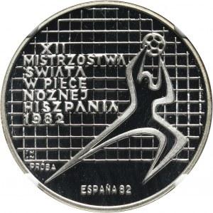 PRL, 200 złotych 1982, MŚ w Hiszpanii, PRÓBA