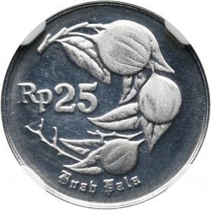 Indonezja, 25 rupii 1995