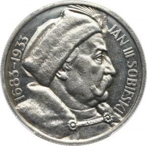 II RP, 10 złotych 1933, Warszawa, Jan III Sobieski, bez napisu PRÓBA