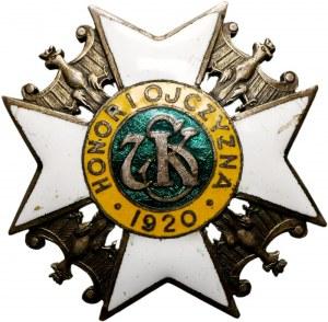 Odznaka 7 Pułku Strzelców Konnych Wielkopolskich - Biedrusko