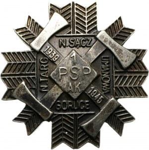 Miniatura Odznaki pamiątkowej 1 Pułku Strzelców Podhalańskich