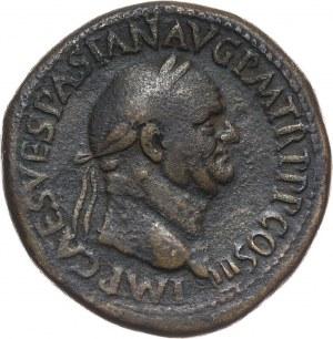 Roman Empire, Vespasian 69-79, Sestertius, Rome