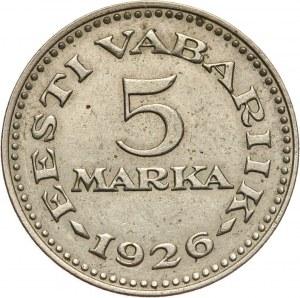 Estonia, 5 marek 1926