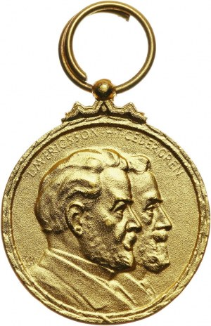 Szwecja, medal w złocie bez daty (I poł. XX wieku), H. T. Cedergren i L. M. Ericsson