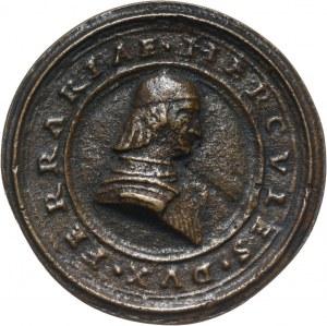 Włochy, Ferrara, Herkules I d'Este (1471-1505), medal