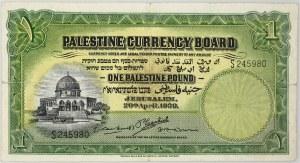 Palestyna, 1 funt 20.04.1939, seria S