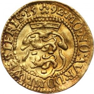 Niderlandy, Fryzja Zachodnia, dukat 1592