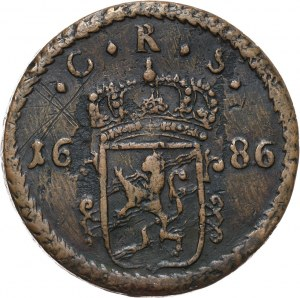 Szwecja, Karol XI, ore 1686 SM, Avesta