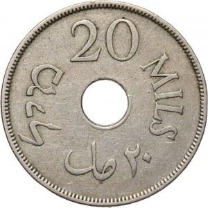 Palestyna, 20 mils 1933