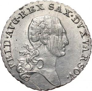 Księstwo Warszawskie, Fryderyk August I, 1/3 talara 1814 IB, Warszawa