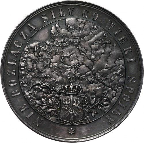 XIX wiek, medal z 1886 roku, Rugi Pruskie