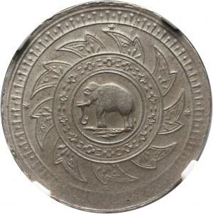 Tajlandia, Rama IV 1851-1868, 1/2 baht bez daty (1860)