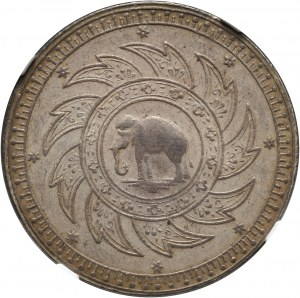 Tajlandia, Rama IV 1851-1868, baht bez daty (1860)