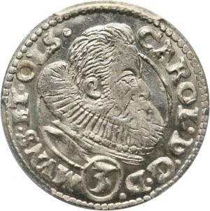 Śląsk, Księstwo Ziębicko-Oleśnickie, Karol II, 3 krajcary 1612, Oleśnica