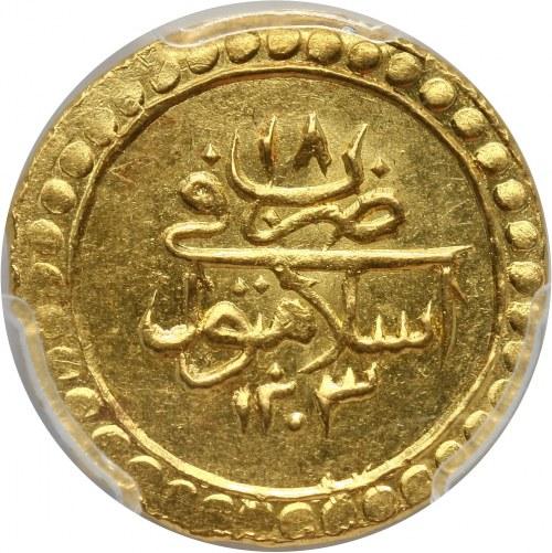Turcja, Selim III, Altin AH 1203/18 (1806)