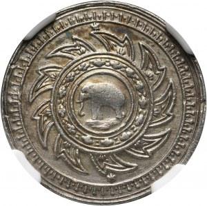 Tajlandia, Rama IV 1851-1868, 1/4 Baht (Salung) bez daty (1860)