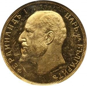 Bułgaria, Ferdynand I, 100 lewa 1912