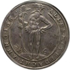 Niemcy, Brunszwik-Lüneburg, Krystian Ludwik, talar 1651 HS, Zellerfeld
