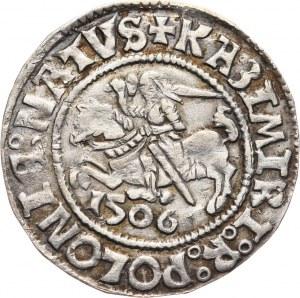 Zygmunt I Stary (jako książę głogowski), grosz 1506, Głogów