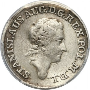 Stanisław August Poniatowski, złotówka próbna 1771, Warszawa