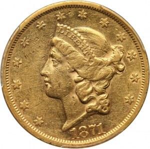 Stany Zjednoczone Ameryki, 20 dolarów 1871 S, San Francisco