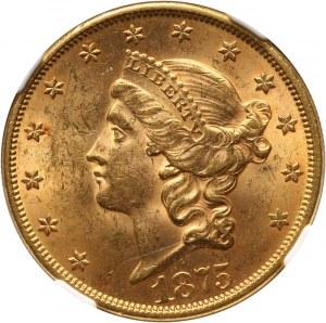 Stany Zjednoczone Ameryki, 20 dolarów 1875, Filadelfia