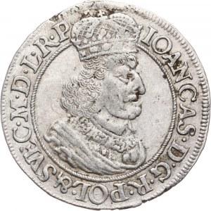 Jan II Kazimierz, ort 1651, Gdańsk