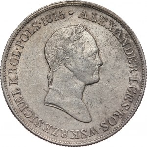 Królestwo Kongresowe, Mikołaj I, 5 złotych 1829 FH, Warszawa