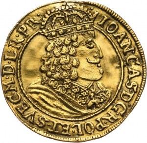 Jan II Kazimierz, dukat 1659 HD-L, Toruń