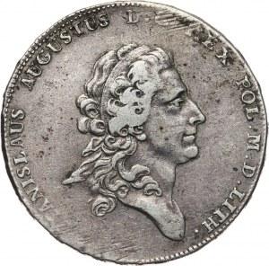 Stanisław August Poniatowski, talar 1775 EB, Warszawa