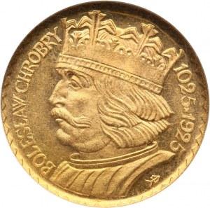 II RP, 10 złotych 1925, Bolesław Chrobry