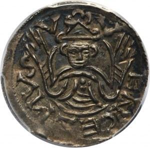 Czechy, Brzetysław I 1037-1055, denar, Praga