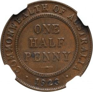 Australia, George V, 1/2 Penny 1923