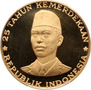 Indonezja, 25000 rupii 1970, generał Sudirman