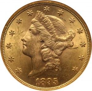 Stany Zjednoczone Ameryki, 20 dolarów 1895, Filadelfia